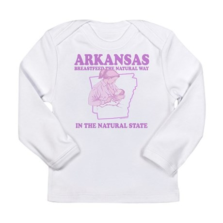Arkansas Long Sleeve Infant T-Shirt