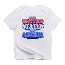 US of Amnesia Infant T-Shirt
