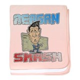 Reagan Smash baby blanket