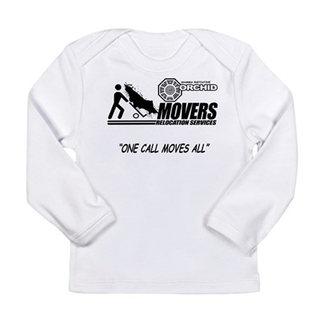 Orchid Movers LOST Long Sleeve Infant T-Shirt
