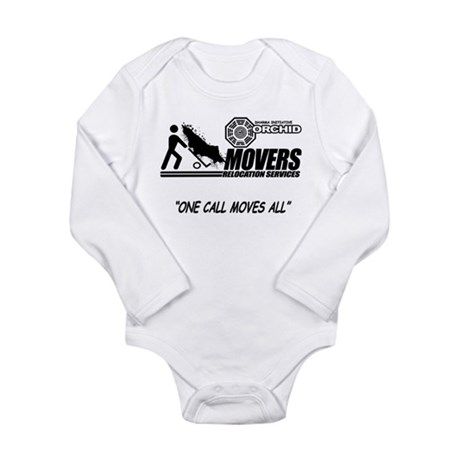Orchid Movers LOST Long Sleeve Infant Bodysuit