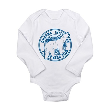 Dharma Polar Bear Club Long Sleeve Infant Bodysuit