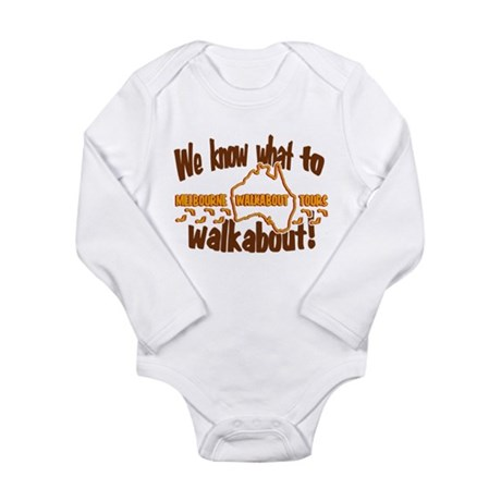 Melbourne Walkabout Tours Long Sleeve Infant Bodys
