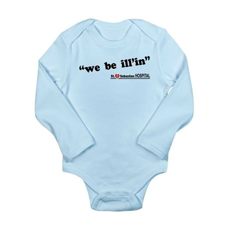 We be Ill'in LOST Long Sleeve Infant Bodysuit