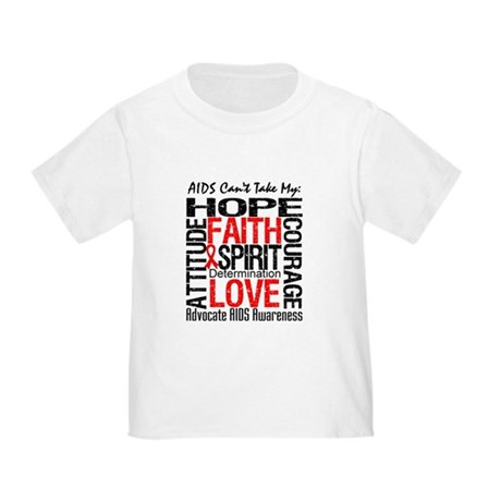 AIDS Can't Take My Hope Toddler T-Shirt