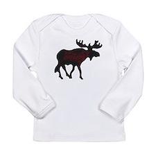 Moose Long Sleeve Infant T-Shirt