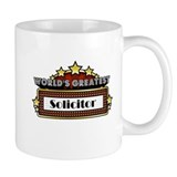 World's Greatest Solicitor Small Mug