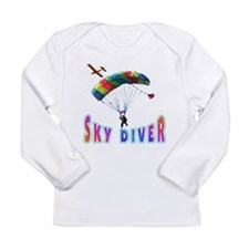 Sky Diver Long Sleeve Infant T-Shirt