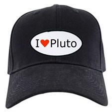 i heart Pluto Baseball Hat
