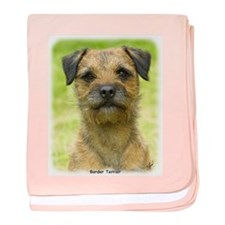 Border Terrier 8W44D-23 baby blanket