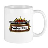 World's Greatest Sales Rep Small Mug