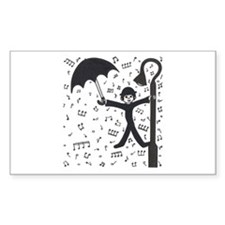 'Singing in the Rain' Decal