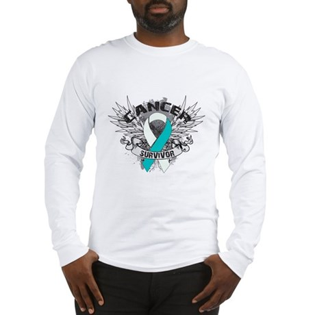 Survivor - Cervical Cancer Long Sleeve T-Shirt