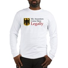 German Ancestors Long Sleeve T-Shirt