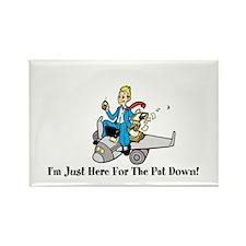 Pat Down Rectangle Magnet