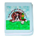 Bassett Hound Party guy!! baby blanket