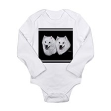 American Eskimo Long Sleeve Infant Bodysuit