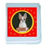 Chihuahua Puppy baby blanket