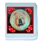 Chinese Chow Chow baby blanket