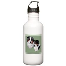 Australian Shepherd Twosome Water Bottle