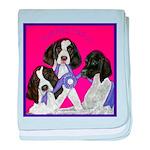 GSP Puppies Rule baby blanket