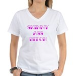 Skinny Ass Bitch Women's V-Neck T-Shirt
