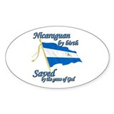 Nicaraguan by birth Decal