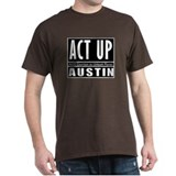 ACT UP Austin Black T-Shirt