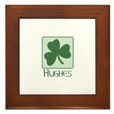 Hughes Family Framed Tile