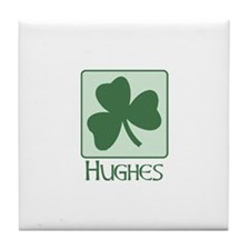 Hughes Family Tile Coaster