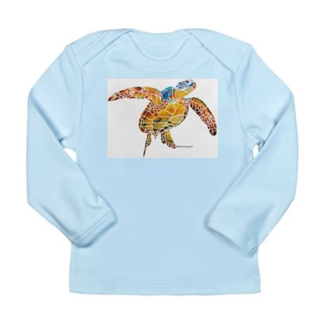 Sea Turtles Long Sleeve Infant T-Shirt