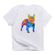 Whimsical French Bulldog Infant T-Shirt
