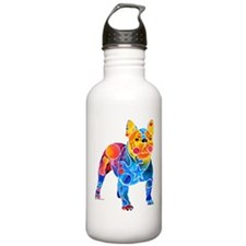 Whimsical French Bulldog Water Bottle