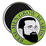 Real Men Grow Beards Magnet