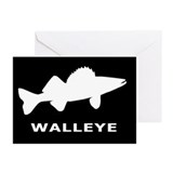 Walleye. Just Walleye Greeting Cards (Pk of 20)