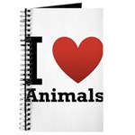 I Love Animals Journal