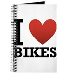 I Love Bikes Journal