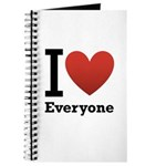 I Love Everyone Journal