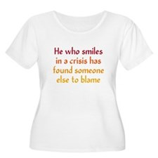 Smile in a Crisis T-Shirt
