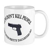 Guns Don't Kill People Small Mugs