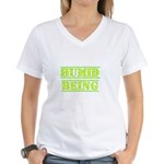 Humid Being Women's V-Neck T-Shirt