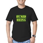 Humid Being Men's Fitted T-Shirt (dark)