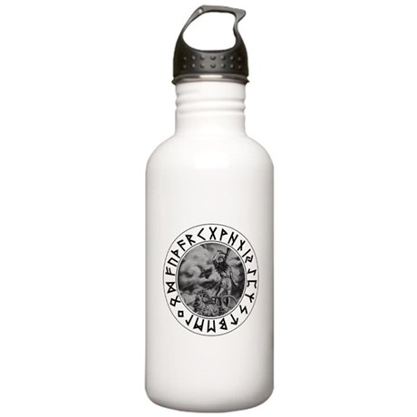 Thor Rune Shield Stainless Water Bottle 1.0L