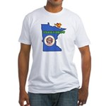 ILY Minnesota Fitted T-Shirt