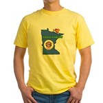 ILY Minnesota Yellow T-Shirt