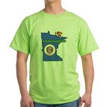 ILY Minnesota Green T-Shirt