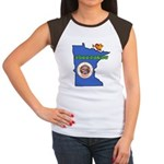 ILY Minnesota Women's Cap Sleeve T-Shirt