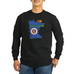 ILY Minnesota Long Sleeve Dark T-Shirt