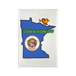 ILY Minnesota Rectangle Magnet (100 pack)