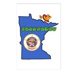 ILY Minnesota Postcards (Package of 8)